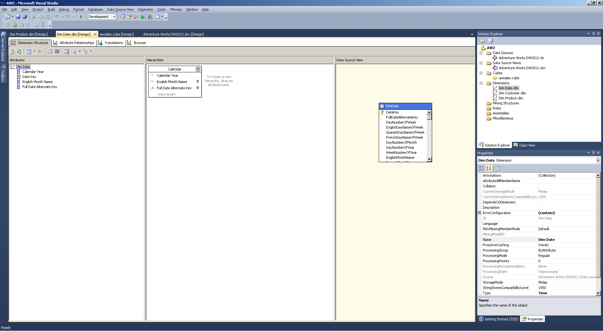 Getting Started with Mondrian For SSAS Developers – Big Data